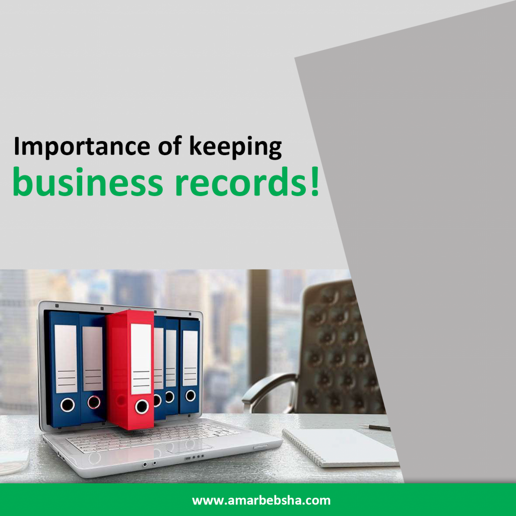 Importance of Keeping Business Records